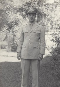 photo of Dr. Ray in uniform